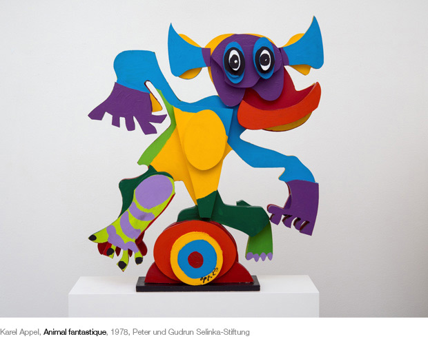 Karel Appel, Animal fantastique, 1978, Peter und Gudrun Selinka-Stiftung