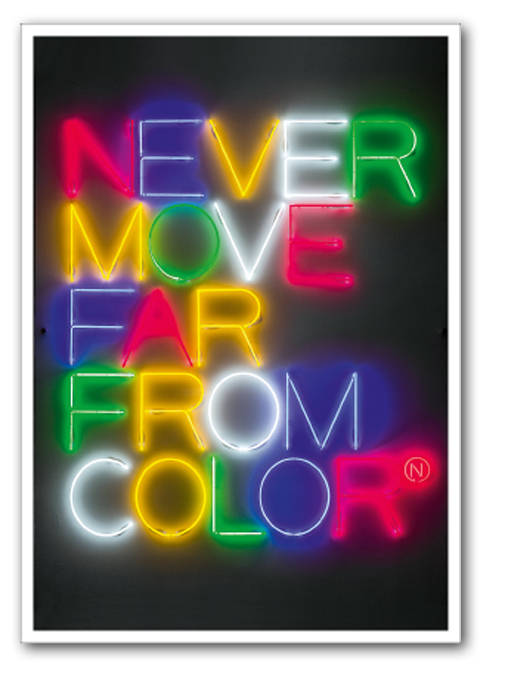 "Maurizio Nanucci, ""Never move far from color"", 1970/2011"